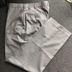 Perry Ellis Portfolio 32x30 Striped Dress Pants
